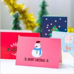 Barato preço cartão postal de Corte a Laser de luxo Cartão Presente de Natal