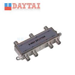 Piscina 6 Modo de sinal via cabo coaxial RF Divisor para cabo e Internet