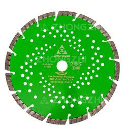 Laser 용접 다이아몬드 안내장은 구체적인 아스팔트를 위해 톱날을