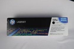 Цветной тонер оригинальный картридж с тонером 125А CB540A/CB541A/CB542A/CB543A для принтера Jet HP для лазерной печати