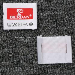 衣服のための高品質のカスタム洗浄心配によって印刷されるラベルか袋または靴またはおもちゃ