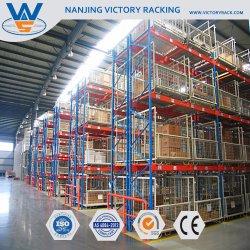 Armazém amplamente uso pesado de armazenagem de paletes de paletes