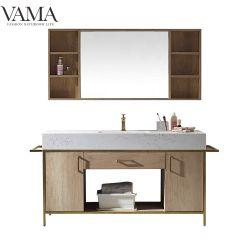 Бухарест 1500 мм роскошь нового продукта Gold ванной комнате туалетный столик мебель 769068g