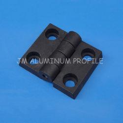 ナイロンヒンジ、45X45プロフィールのためのプラスチックヒンジ