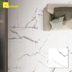 3D vitrage blanc poli Carrelage de sol en céramique en porcelaine de Chine
