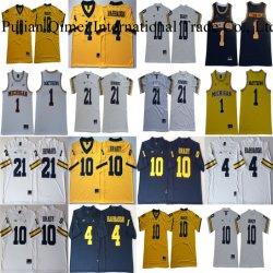 Barato por grosso Michigan Wolverines Brady Harbaugh Howard Matthews College camisolas
