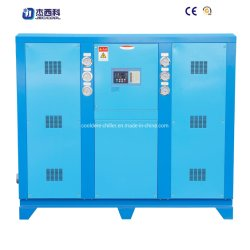 Hermetic Scroll Darkin Compressor Fin Condenser Chiller Unit를 가진 104.6kw Cooling Capacity Box Type Water Cooled Scroll Chiller /Industrial Water Chiller