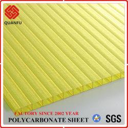 La Chine Bayer Matériau Polycarbonate Twin-Wall PC Sun pour les toitures de feuille