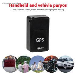 GF-07 소형 GPS 추적자 차 GPS 로케이터 추적자에 의하여 반대로 분실된 기록 실시간 추적 장치는 지원 TF SIM 카드를 기록할 수 있다