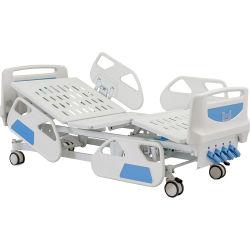 Manual de B4e de manivela de cuatro médicos hospitalarios baratos cama enfermo de la ICU