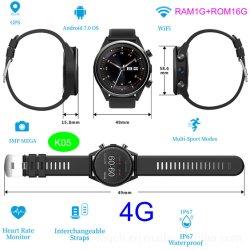 2019 Nouveau Android 7.0 4G GPS Bluetooth Smart montre téléphone portable avec de multiples modes sport K05