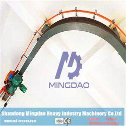 6tonne poutre unique monorail pont roulant de l'espace de l'enregistrement