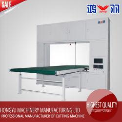 Colchón de goma de la máquina de corte/Chutting Hongyu EPE Máquina/Cortador de esponja