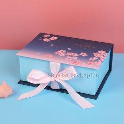 Le luxe personnalisé emballages en carton de pliage du papier fait main boîte cadeau pour le chocolat /Watch/Bijoux/vin/cosmétique