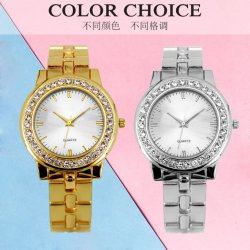 La fabricación OEM de regalo de moda Dama reloj de pulsera de metal personalizados (JY-AL072)