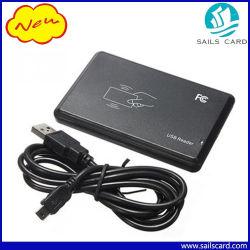La norma ISO14443A 13.56MHz RFID Reader Lector de tarjetas IC con puerto USB
