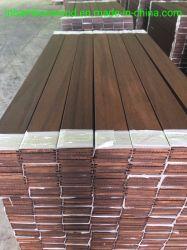 Karbonisierter Qualitäts-hoher haltbarer Strang gesponnener im Freien Bambusbodenbelag