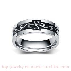 新しい中国の人のチタニウムの鋼鉄ドラゴンのリングの人のパーソナリティーレトロのステンレス鋼の人のオイルの滴りのリング