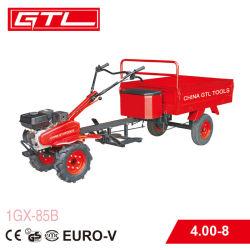 168f 5.5HP 4 stoken de Roterende Uitloper van de Benzine van de Tractor van het Landbouwbedrijf van de Benzine met Aanhangwagen (1GX-85B) op