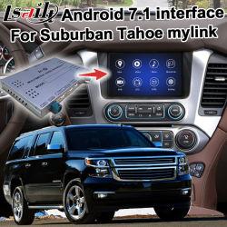В Android Market Lsailt система навигации GPS для автомобилей Шевроле Тахо пригородного etc Video Interface GM Intellink система дополнительно Carplay Mylink Cue