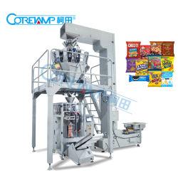 Verpakkende Machine van de Verpakking van de Systemen van het Voedsel van het suikergoed/van de Snack van Koekjes/van Spaanders de Wegende Automatische