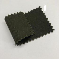 China Exército Têxteis Green 100% algodão sarjado sólido tecido tingidos de camisas 32*21/147*93 210-220GSM