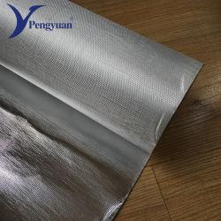Isolatie van het Dak van de Doek van de Glasvezel van de aluminiumfolie de Vuurvaste