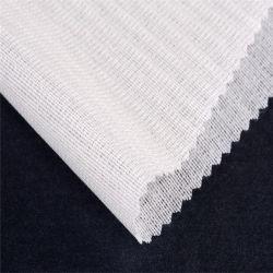 Comercio al por mayor de tejido normal de la tela tejida tejido de punto doble Interlinings fusibles revestimientos para dama palo