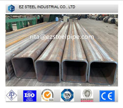 Qound sans soudure laminés à chaud, carré, bâtiment rectangulaire tuyau métallique/Tubes