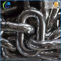 Catena a maglia media saldata DIN764 dell'acciaio inossidabile di vendita della fabbrica/acciaio al carbonio