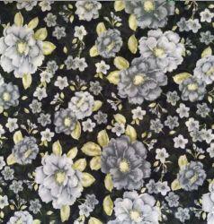 Fashion 100 % polyester tissé coloré en mousseline robe de tissu Pour imprimer