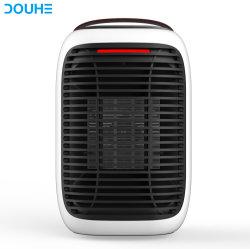 2019 L'hiver nouveau double portable personnel de protection de sécurité 950W Mini Accueil Desktop électrique du ventilateur de chauffage céramique PTC Whitespace chauffage (DH-QNK07)