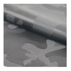 ジャカードカムフラージュのナイロンジャケットファブリック