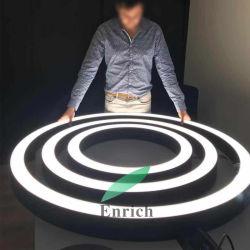 حديث ثريات [لد] يعلّب دائريّة خفيفة [رووند شب] ضوء
