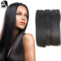 Angelbella Indian Nieuw Aangekomen Menselijk Haar 1b# Soft Hand Feel Virgin Hair Weven
