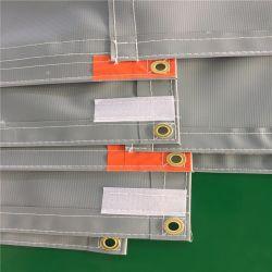 Il PVC insonorizzato della tela incatramata del PVC dello strato della barriera sana del PVC dello strato di Retardan della fiamma del PVC ha laminato il tessuto laminato PVC della tela incatramata