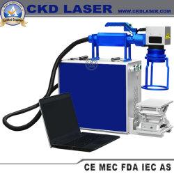 Ordinateur de poche se déplaçant de laser mobile Machine de marquage pour les roulements de numérotation de codage