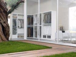 Il classico nessun colore bianco del portello ha personalizzato la fabbricazione della Cina del guardaroba