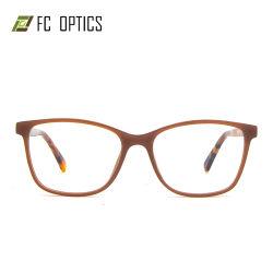 Montatura per occhiali ottica del monocolo dell'orlo dell'iniezione dell'acetato di modo rettangolare completo del progettista