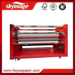 Большой формат вращающегося барабана нажмите кнопку нагрева машины 420*1900 мм для печати с термической возгонкой