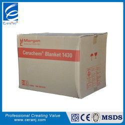 Alta fibra di ceramica termoresistente generale pura di CT 1430