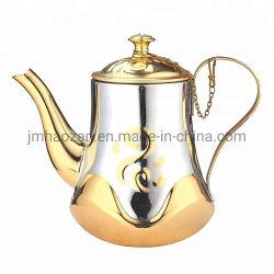 Teiera non elettrica del POT del caffè colorata rame classico dell'acciaio inossidabile dell'oro