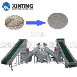 PE van pp Plastiek van de Machine van de Was van het Recycling van het Afval het Plastic Kringloop