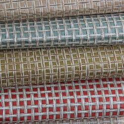 Оптовая торговля характера металлических Grasscloth обычная стенам обои для интерьера