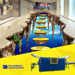3D en carreaux de céramique de verre microcristalline Four pour la décoration de plancher haut de gamme