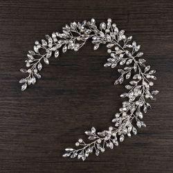 Корейский невесты Crystal головная стяжка Tiara свадебные Ювелирные изделия