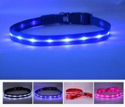 Аккумулятор USB собака втулку на складе LED собака щенок хомутик и Узду снов типа Пэт защитную втулку