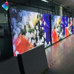 شاشة أمامية عالية الدقة مفتوحة ذات بكسل صغير P2 عالية الدقة شاشة LED للحائط للفيديو بدقة 4K