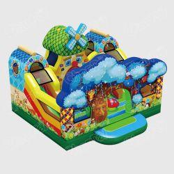 Европейский горячая продажа фантазия лесных надувной игровой площадкой парк развлечений для детей Chob658