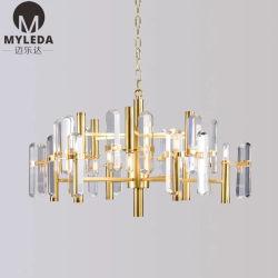 Iluminação de cristal Lustre Pendente de embutir a Lâmpada de Teto Residensial luz de LED
